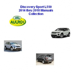 L550 Discovery Sport 2014-2018 Manuals